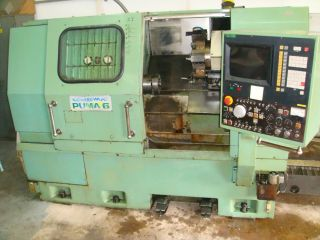 Daewoo Puma 6 Cnc Lathe Fanuc 3t photo