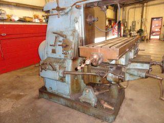 Cincinnati No.  3 Universal Horizonal Milling Machine photo