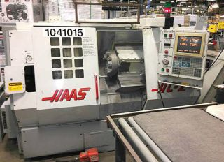 Haas Hl - 2 Cnc Turning Center With Tailstock And Tool Eye 1997 photo