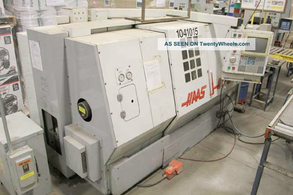 Haas Hl  2 Cnc Turning Center With Tailstock And Tool Eye. Cryptogenic Organizing Signs. Space Signs. Training Signs. Rectangle Signs. Radiator Signs. Cheese Signs. Strange Signs. H20 Signs