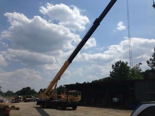 Grove Crane,  Tms250a,  25 Ton,  Cat Engine,  Works Great,  Close To Ports photo