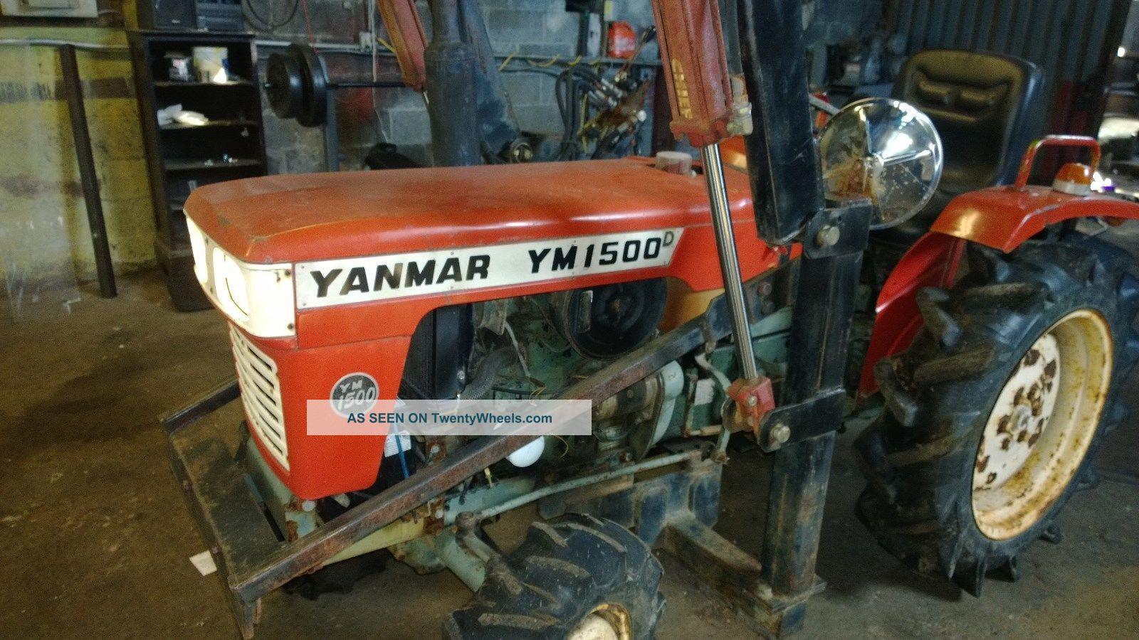 Yanmar 1500d 1500 Tractor Wiring Diagrams