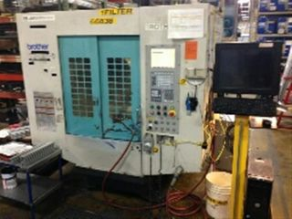 2000 Brother Tc - S2a - 0 Cnc Drill And Tap Center Tapping Milling Mill 10,  000 Rpm photo
