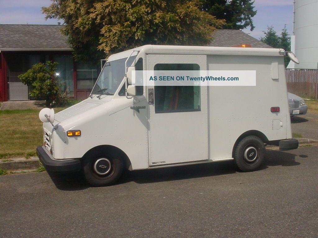 1991 grumman llv mail truck autos post. Black Bedroom Furniture Sets. Home Design Ideas