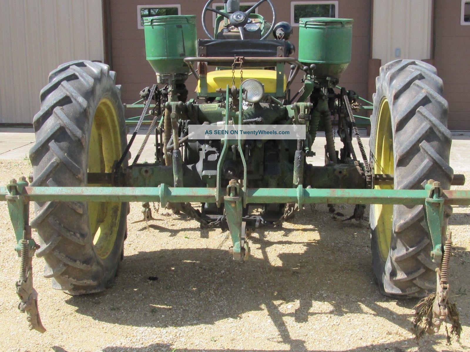John Deere 430 Cultivator W Fertilizer Side Dresser 3 Point 530 630 730