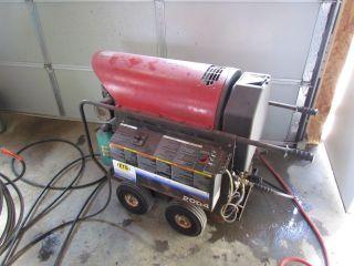 Mi - T - M 2000 Psi Hot Water Pressure Washer Electric W/diesel Heat photo