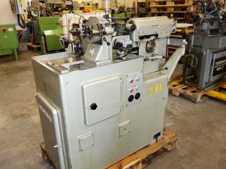 Escomatic D2 Swiss Coil Fed Automatic Lathe. .  Serial Number 3345. .  Excellent. photo