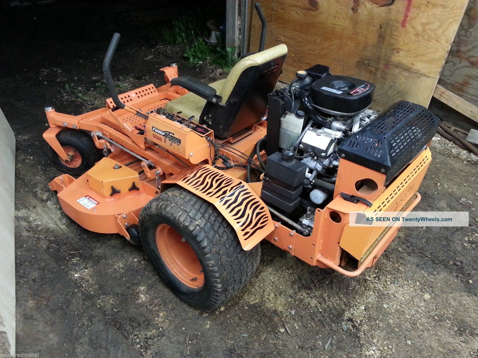 61 Quot Scag Turf Tiger 27hp Liquid Cooled Kawasaki Motor