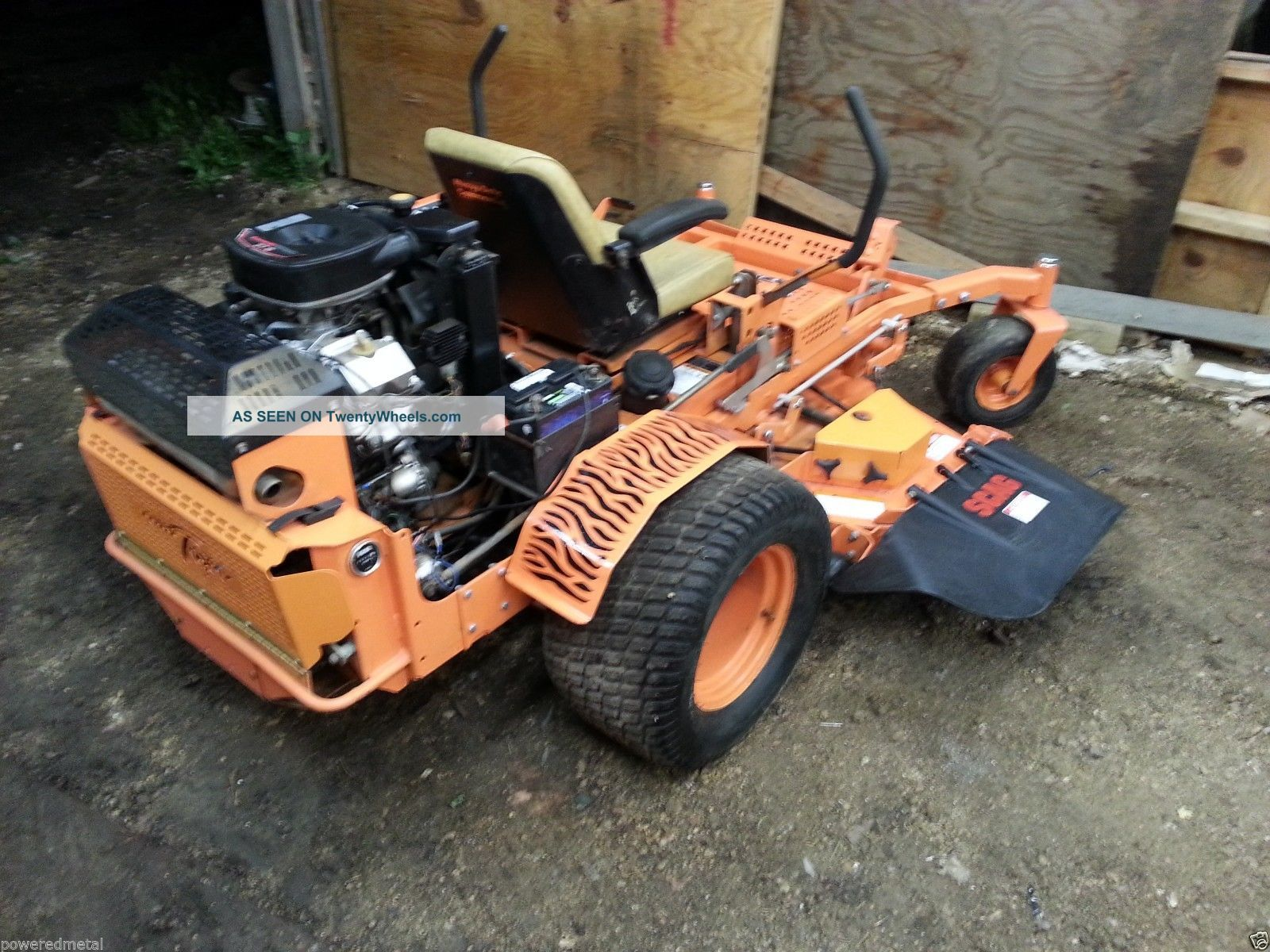 61 Scag Turf Tiger 27hp Liquid Cooled Kawasaki Motor