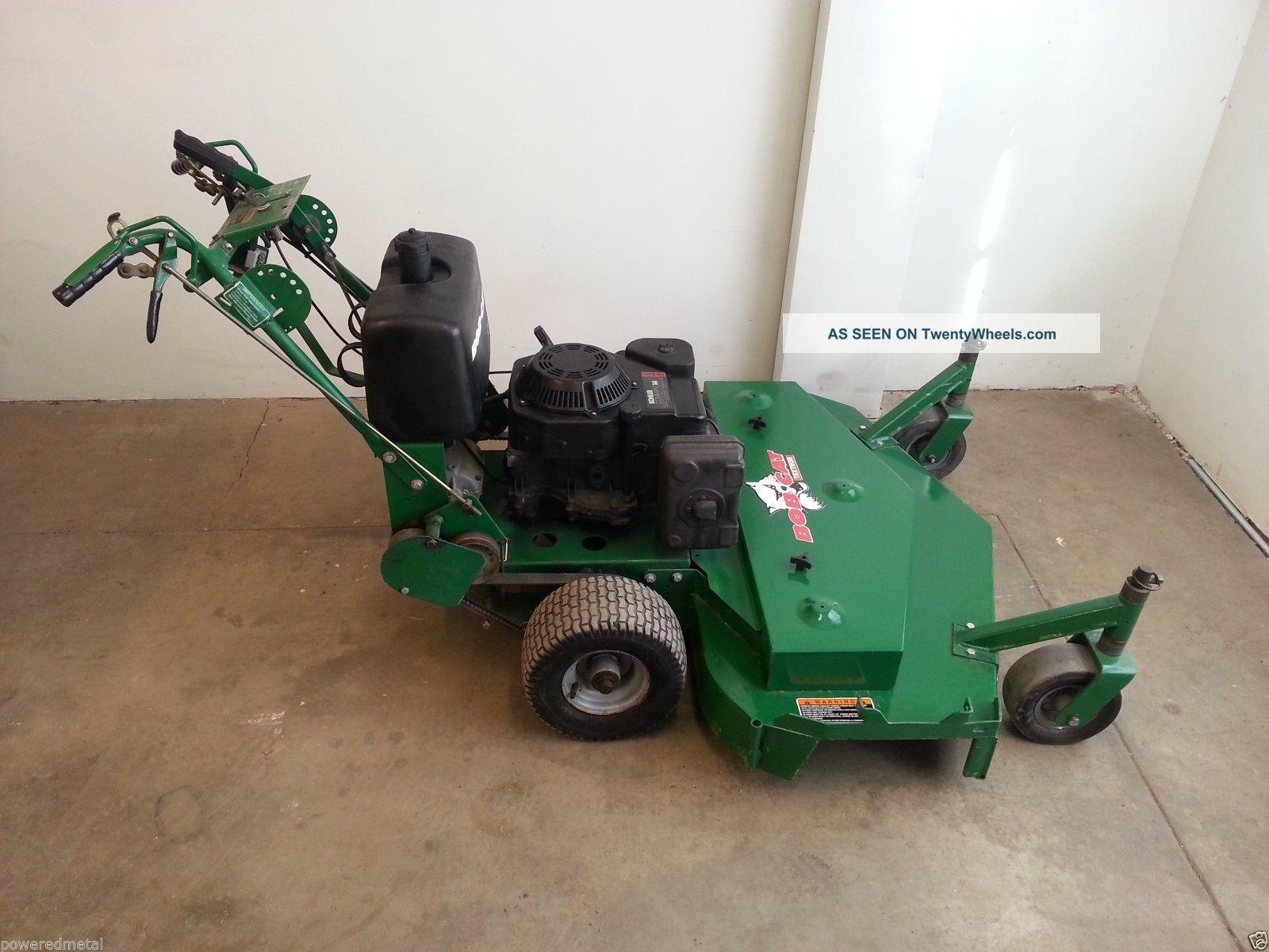 Bobcat 48 Quot Walk Behind Zero Turn Commercial Lawn Mower