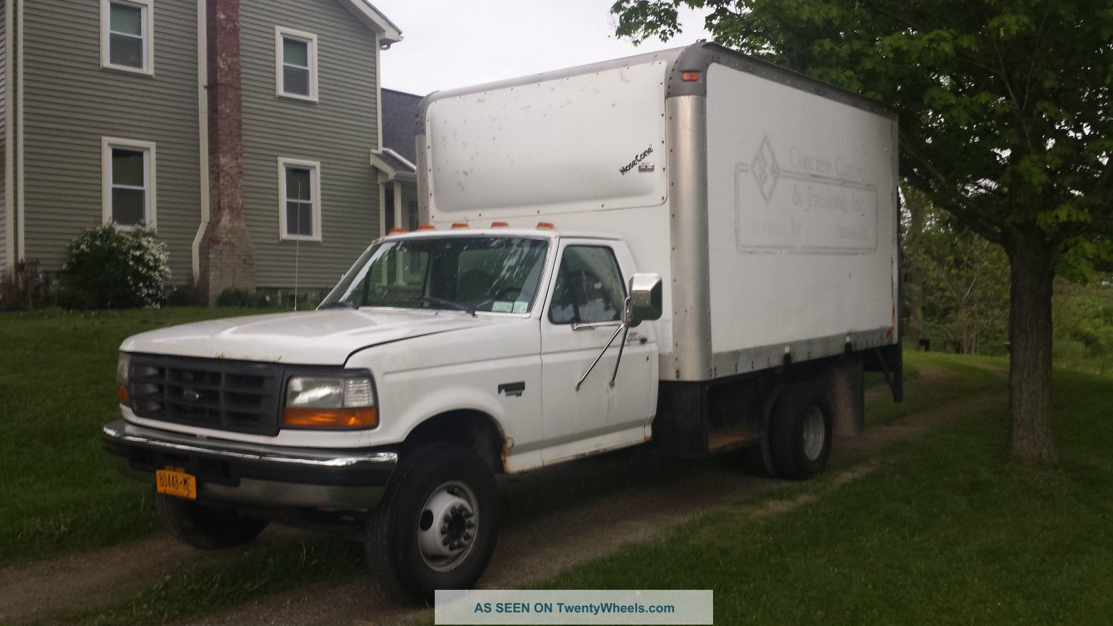 1997 Ford F - Duty Xl Box Trucks / Cube Vans photo