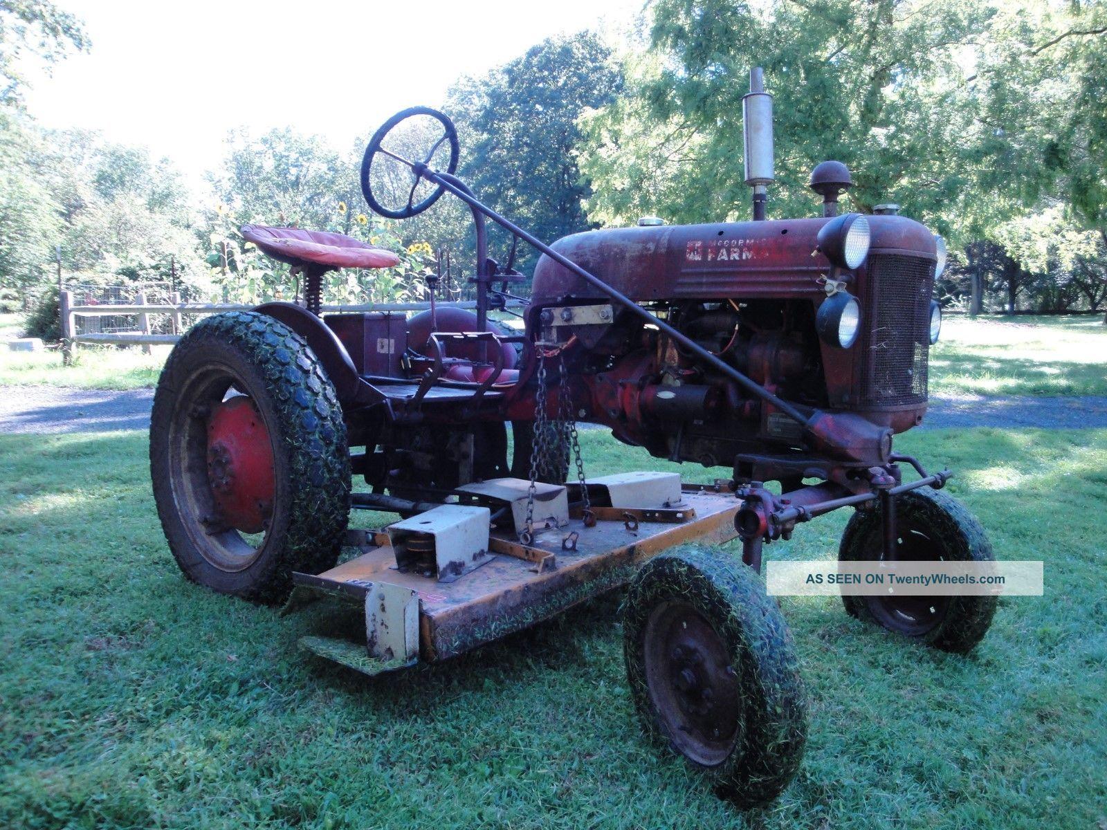 Farmall Cub Tractor Lgw