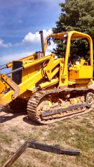John Deere 455e Crawler Loader 1986 photo