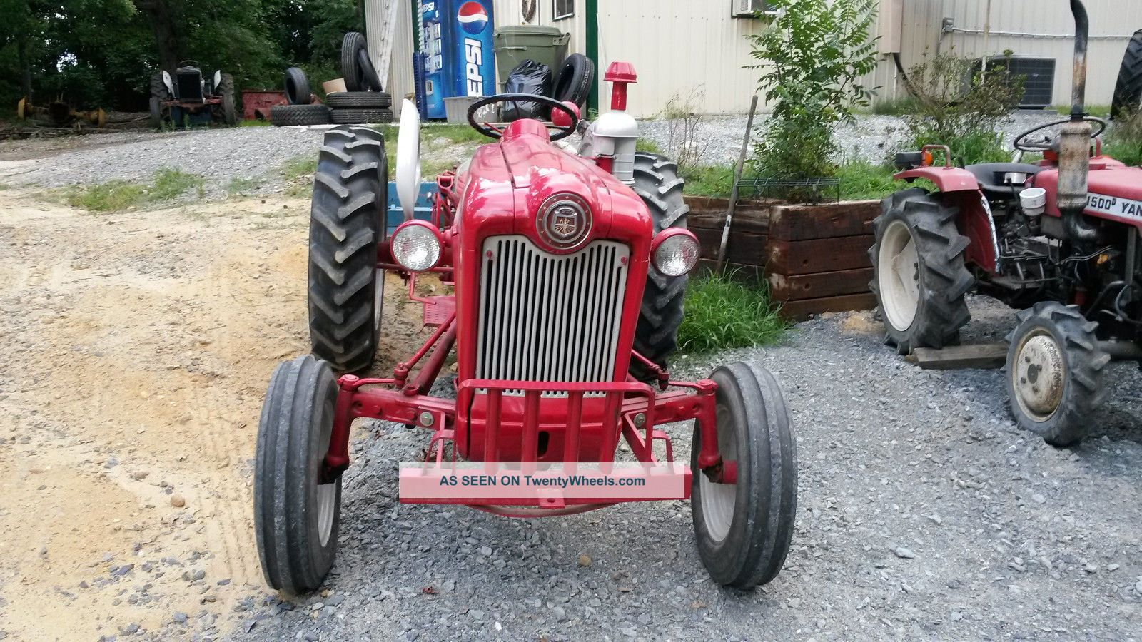 Ford Workmaster 601 Tractor Horsepower : Ford workmaster diesel tractor rare d