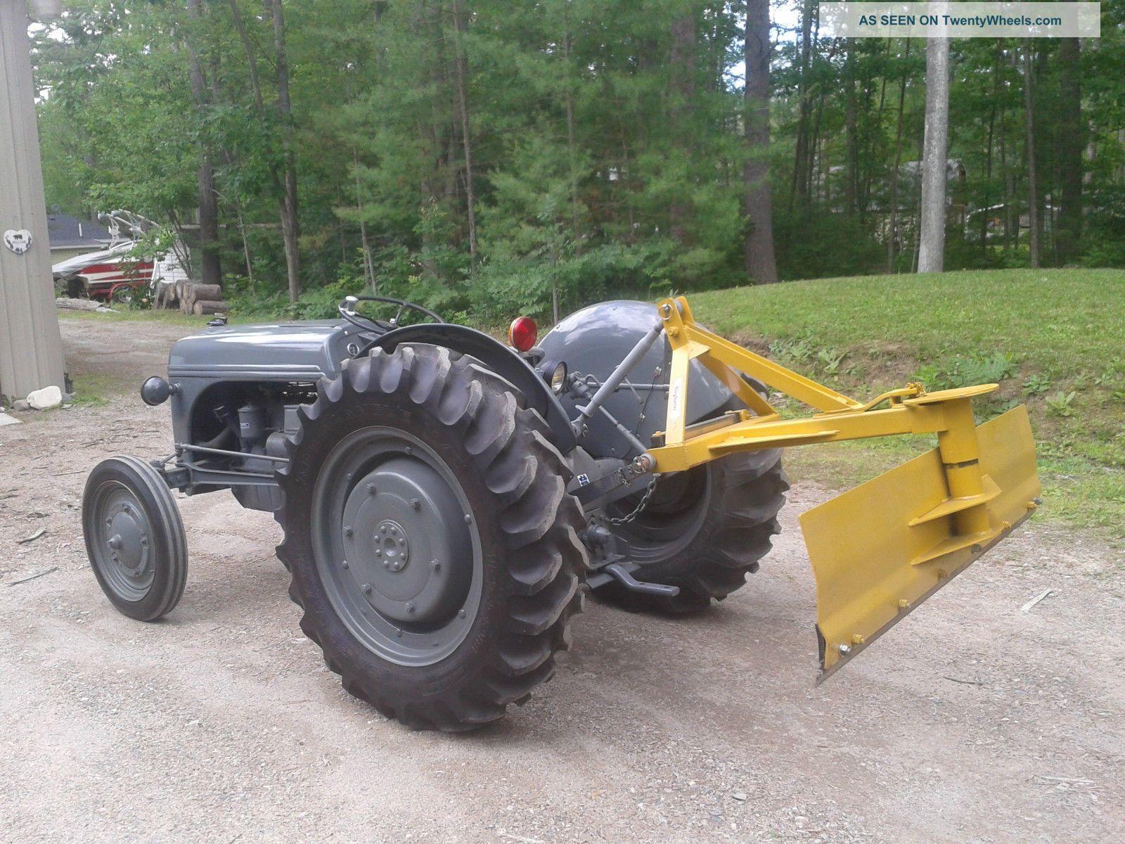 Restored Ford 9n : Ford n tractor show ferguson restored