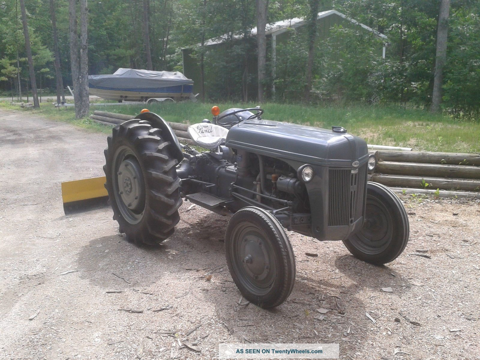 Ford Ferguson Tractor : Ford n tractor show ferguson restored