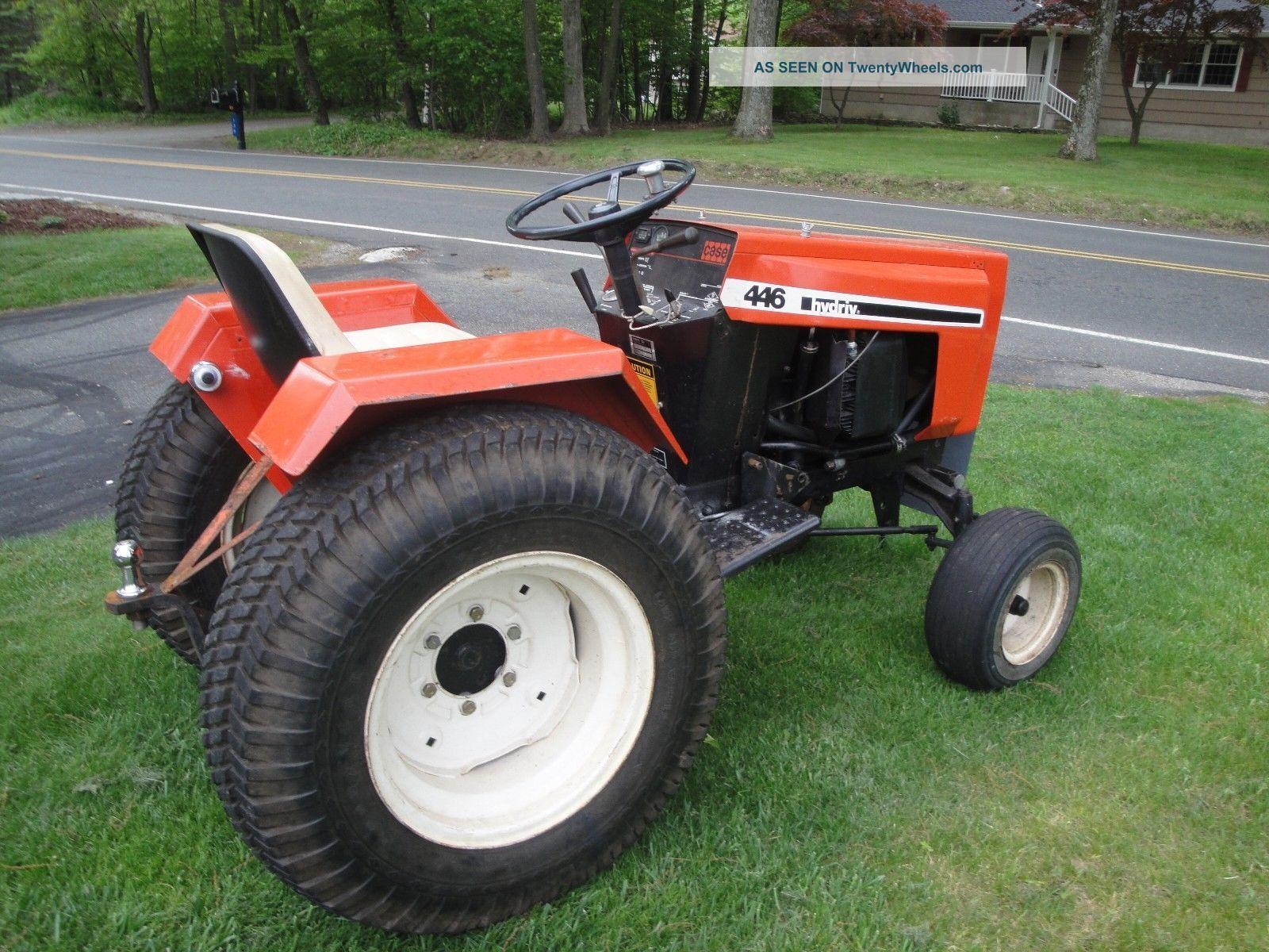 Case 222 Garden Tractor Parts : Case garden tractor hydraulic schematic white