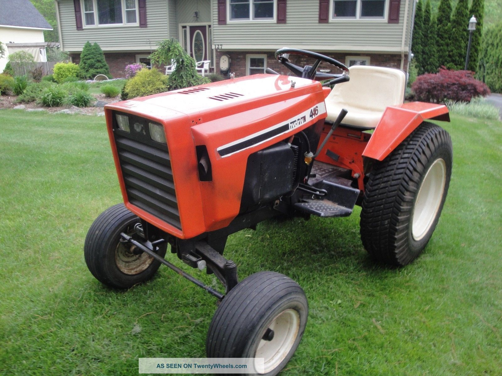 Case 446 Parts : Case garden tractor parts pictures to pin on