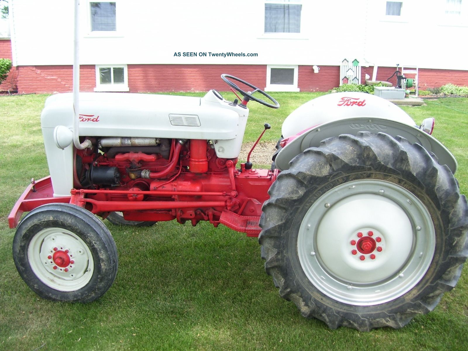 Ford Jubilee Specifications : Ford golden jubilee tractor