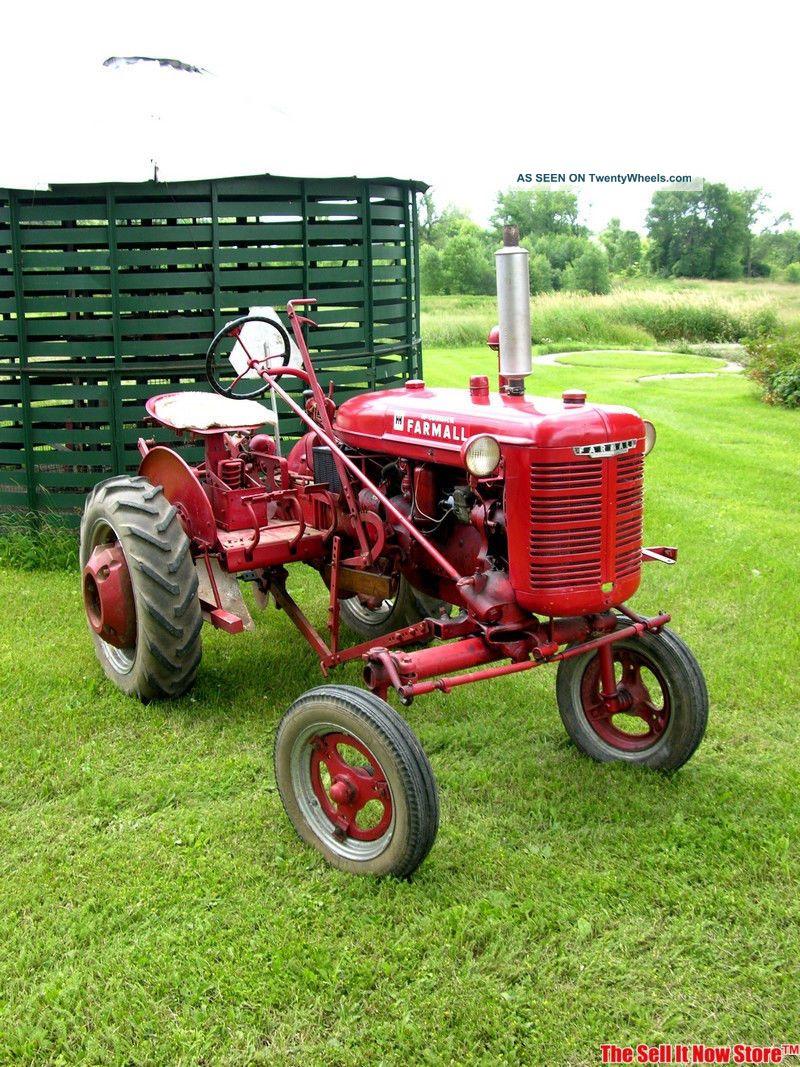 Old International Harvester : Antique mccormick ih international harvester farmall