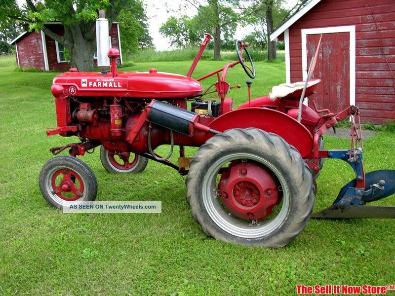 Antique International Tractor Wheel : Antique mccormick ih international harvester farmall