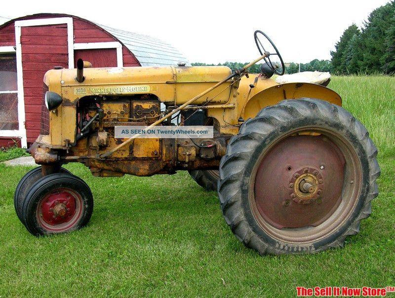 Antique Survivor 1948 Minneapolis Moline Model R Farm ...