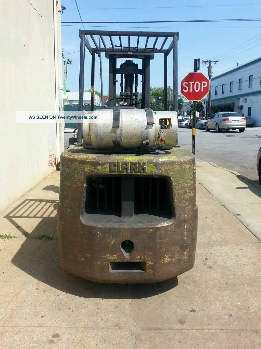 Clark Forklift C500