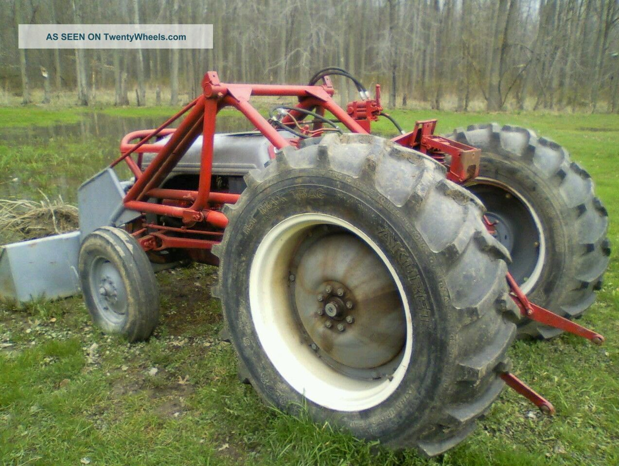 Ford Tractor Gearboxes : Ford tractor stuck in gear