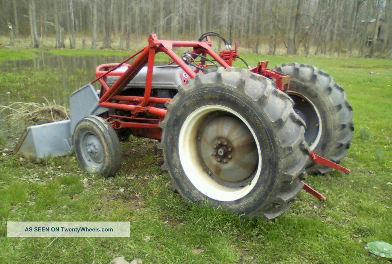 Ford Tractor Gearboxes : N ford tractor the transmission is stuck in