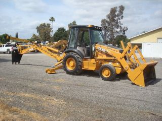 Case 580 M 4x4 Ac,  Extendhoe,  4/1 Bucket,  Joy Stick Loader Very photo