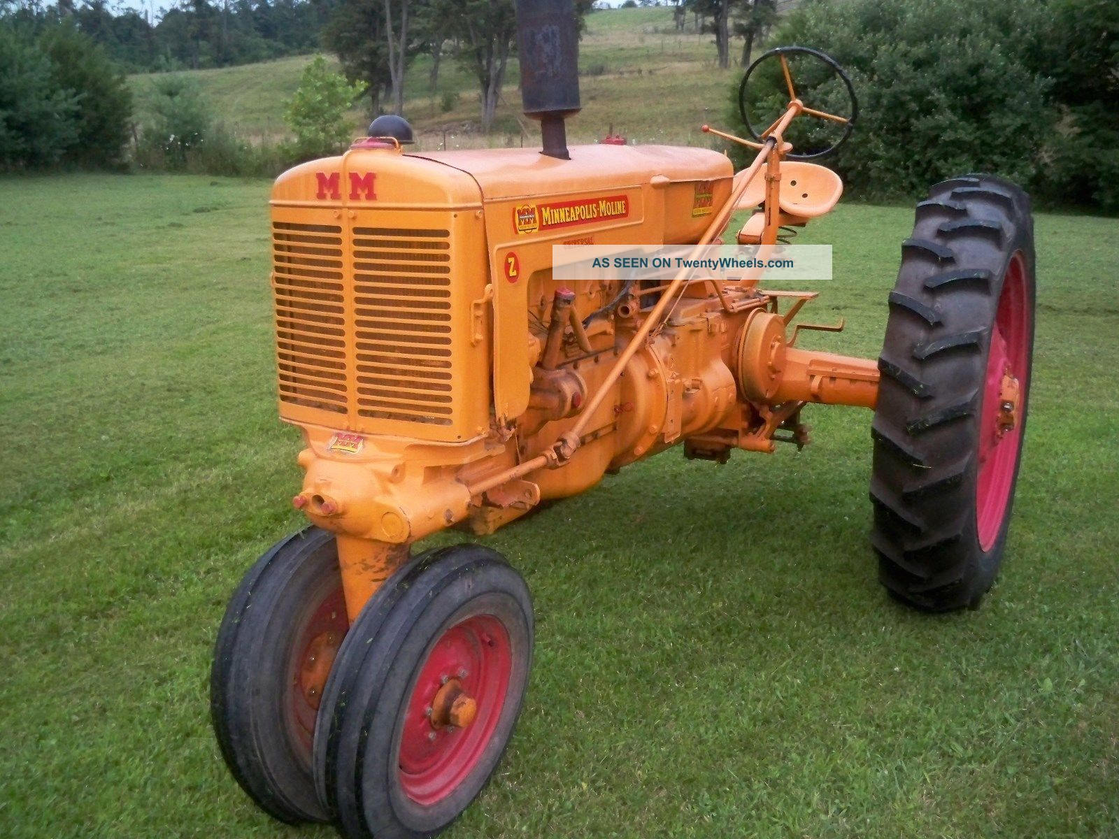 Minneapolis Moline Models : Minneapolis moline model z farm tractor