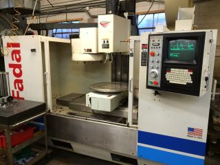 Cnc Fadal 4020ht Vmc 2011 Total Rebuild W/ Integrated 4th Axis Rotary Table photo