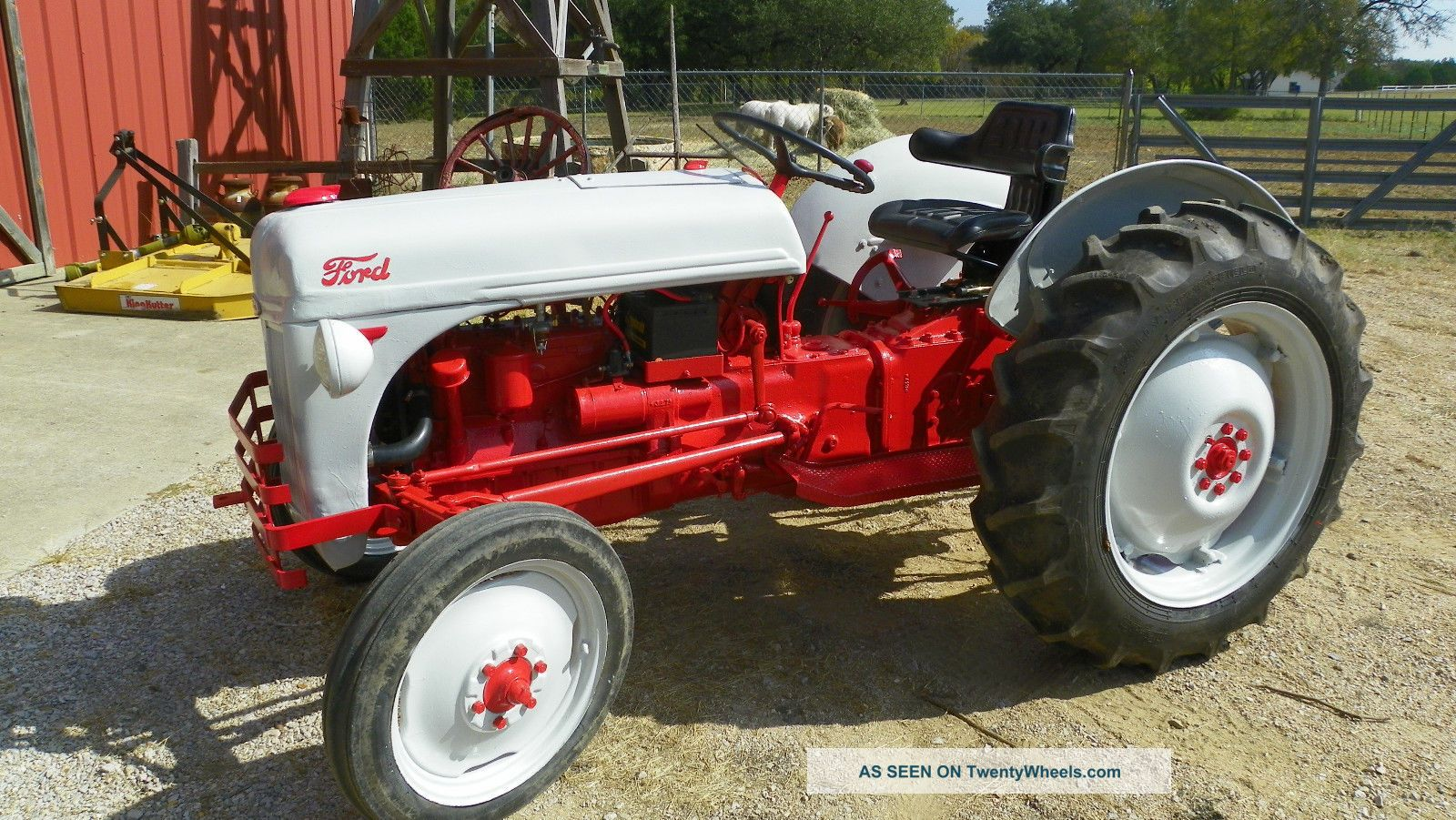 Ford 8n Tractor Dimensions : Ford n tractor specs