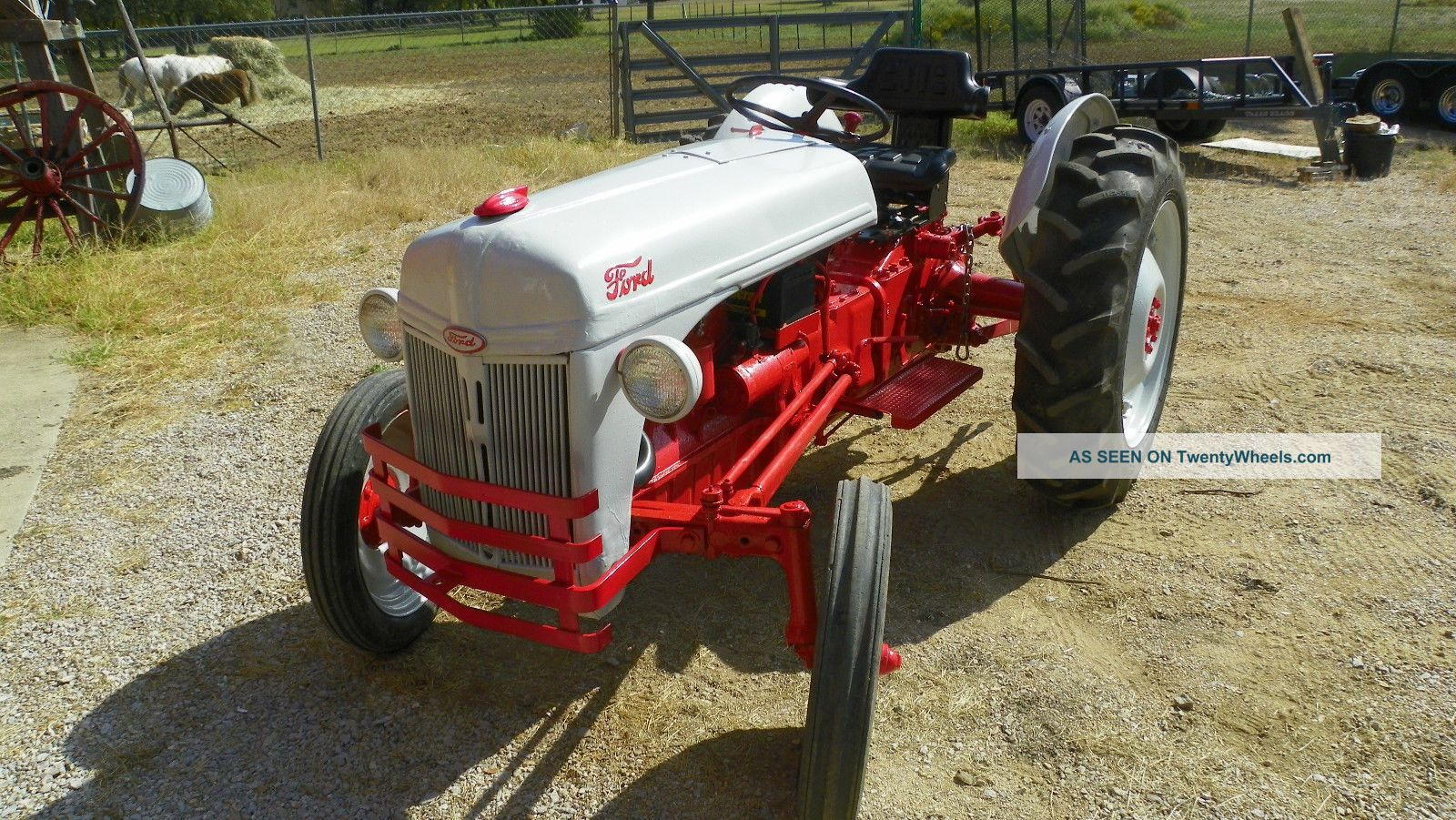 8n Tractor Specifications : Ford n tractor specs