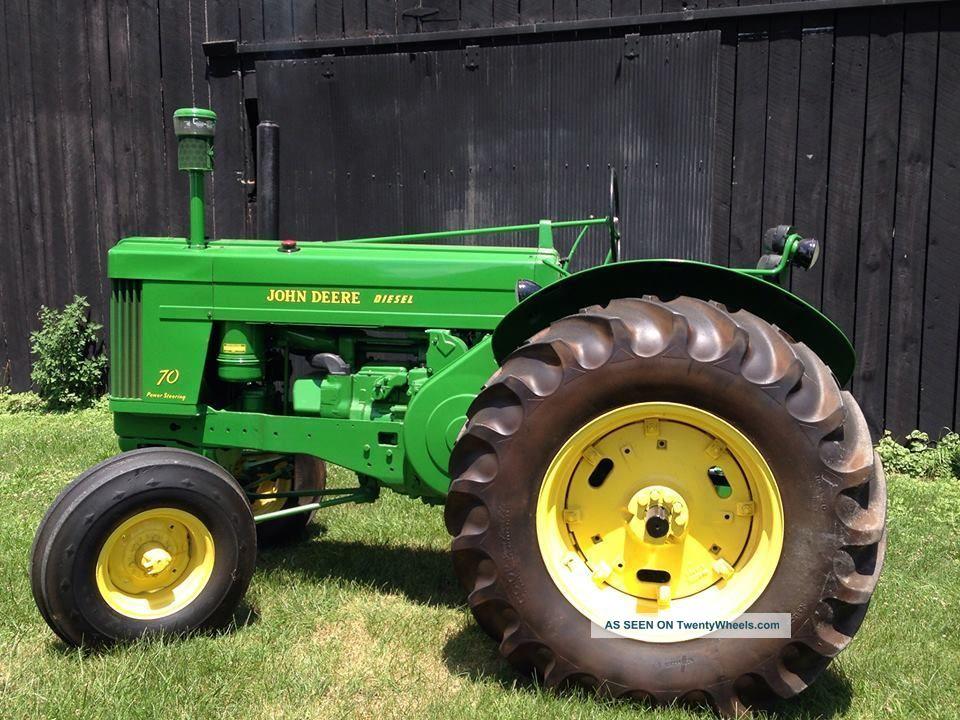 John Deere 70 Tractor : John deere wheatland tractor