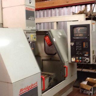 Bridgeport 412 X Vmc Cnc Machine Tnc 2500b Control photo