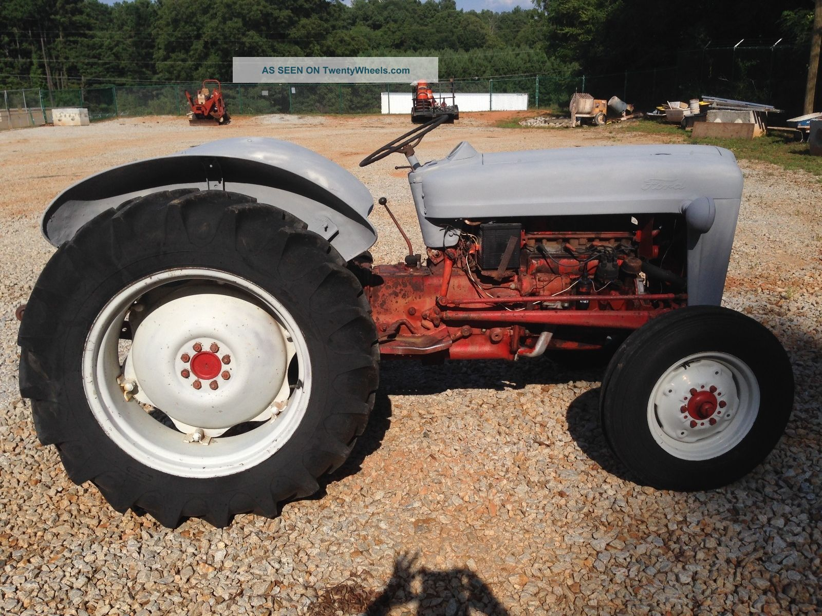 Ford 600 Tractor Farm : Ford series naa farm tractor antique w pto