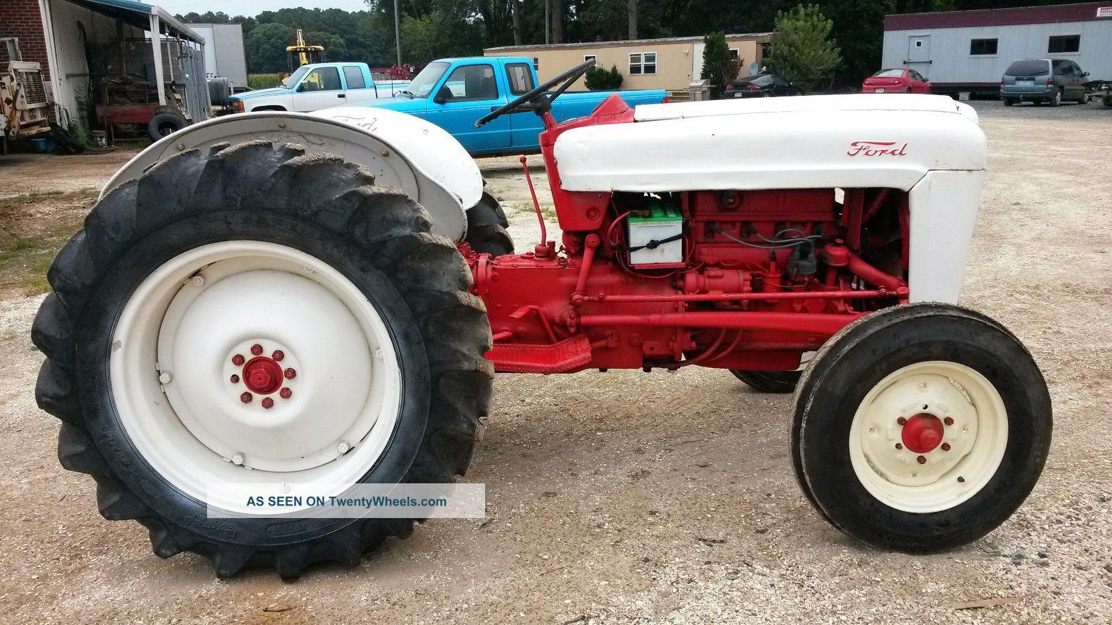 Ford Jubilee Tractor Wheels : Ford jubilee tractor specs