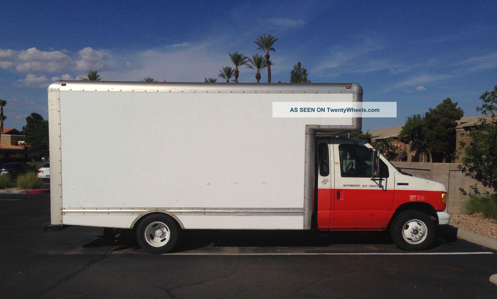 1998 ford e350 box truck. Black Bedroom Furniture Sets. Home Design Ideas