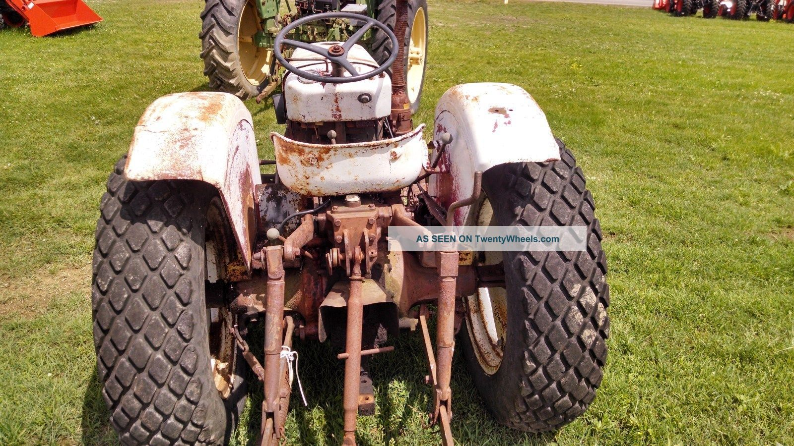 Satoh Bison S650g Mower : Satoh tractor s g with hours or project