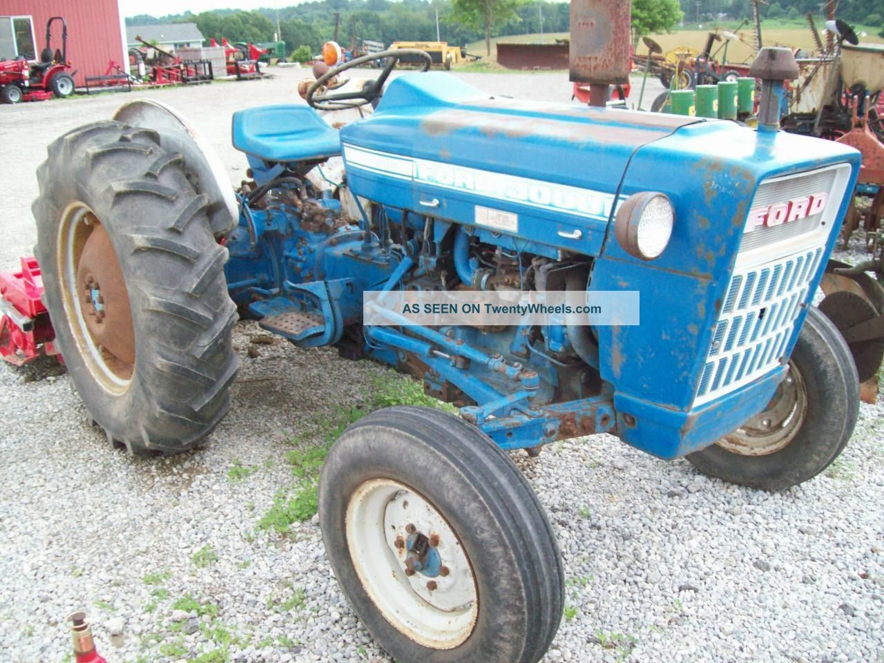 Ford 3000 Tractor Manual : Ford tractor
