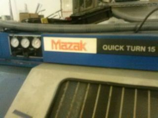 Mazak Quick Turn 15 - Cnc Lathe photo