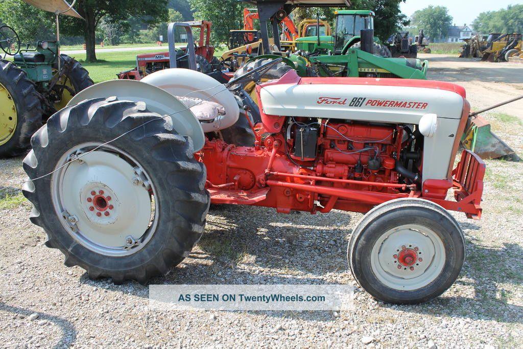 Ford Powermaster Tractor : Ford powermaster tractor