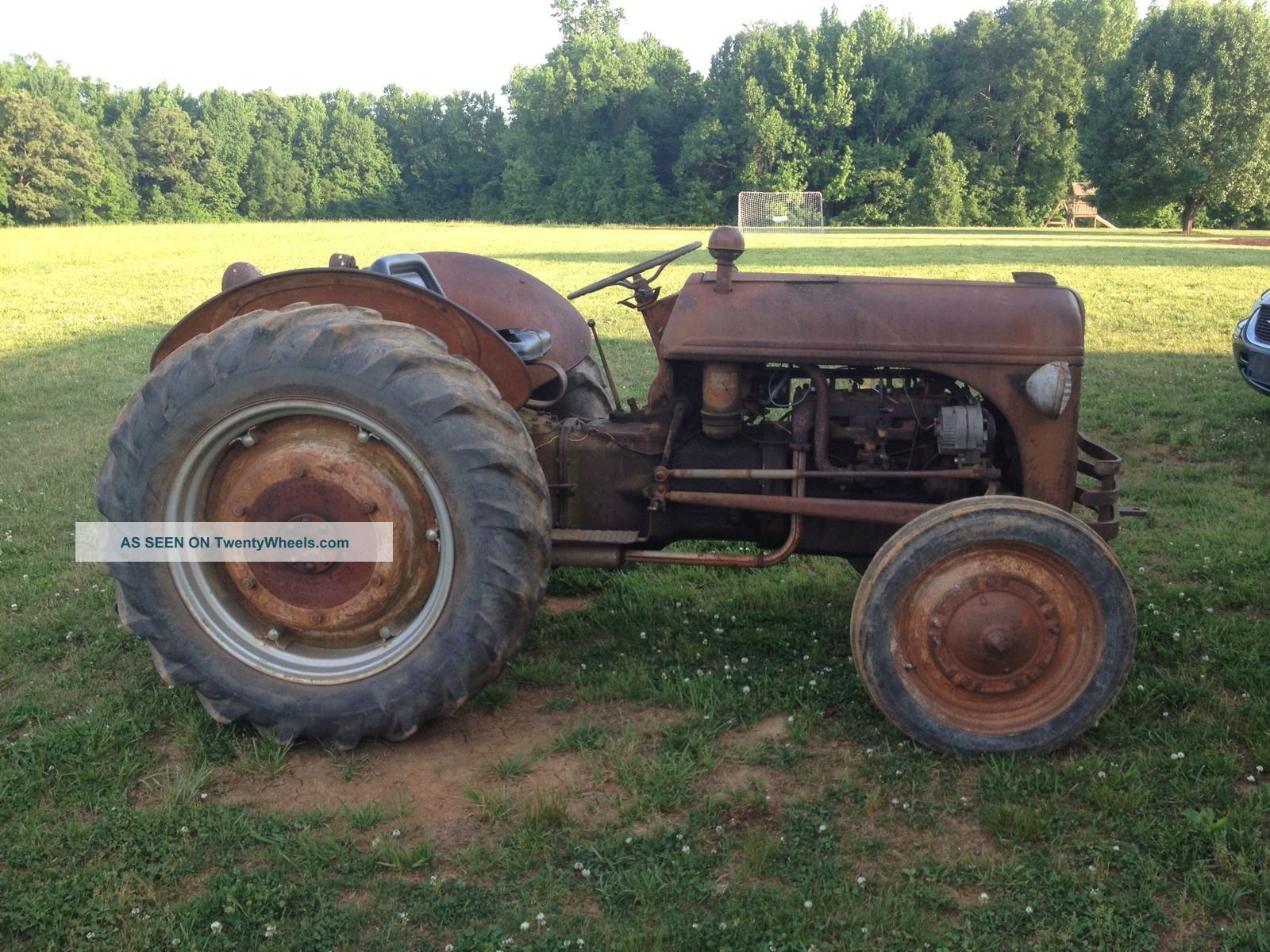 Antique Tractors Ford 9n : N ford tractor