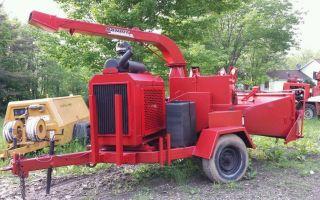 Brush Bandit 250 Xp John Deere Turbo Diesel 12 Inch Wood Chipper I Take Trade In photo