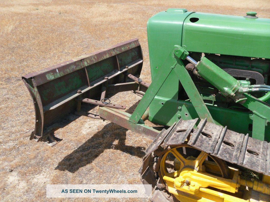 John Deere 1010 Crawler Tractor : John deere crawler dozer