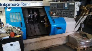 Nakamura Tome Multi - Axis Cnc Turning Center Tw - 10mm Live Tool photo