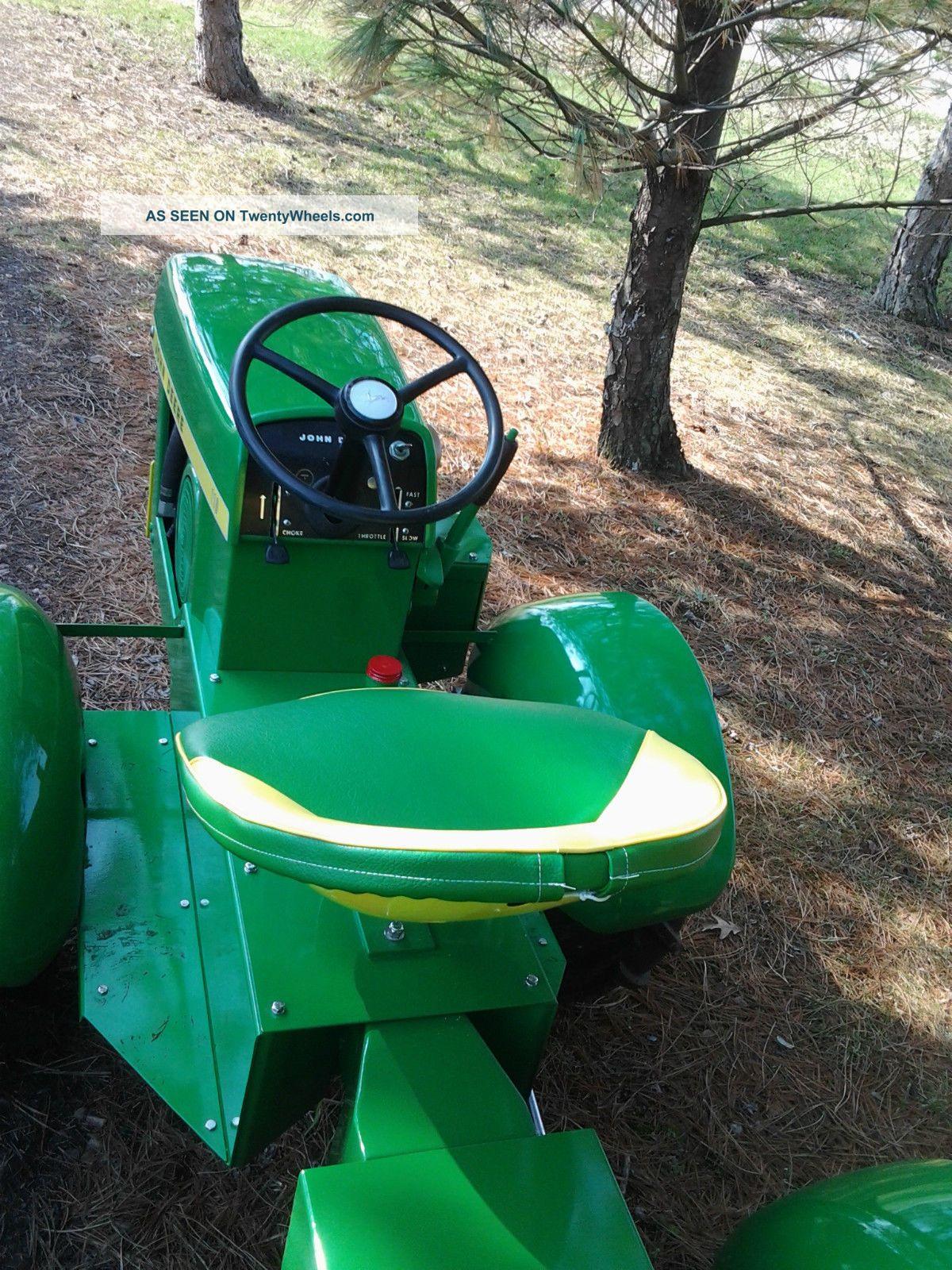 Garden Tractor Custom Truck : John deere round fender articulated garden tractor