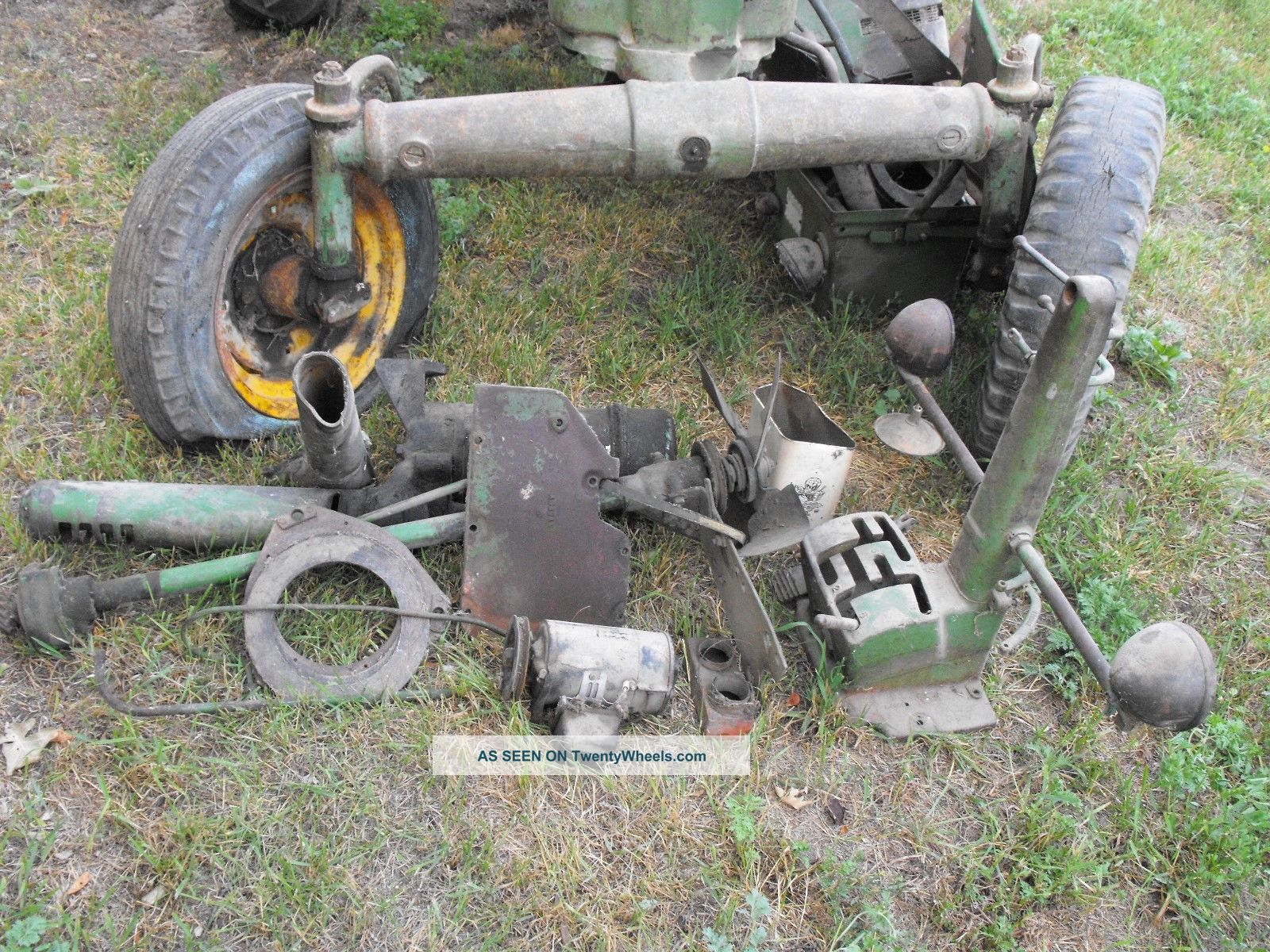 4x4 Tractor Axle : John deere a vintage tractor with wide front axle