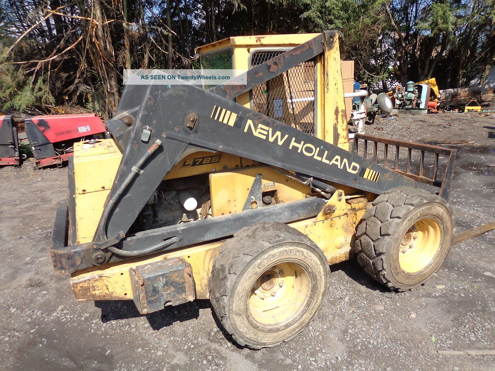 new holland l785 weight